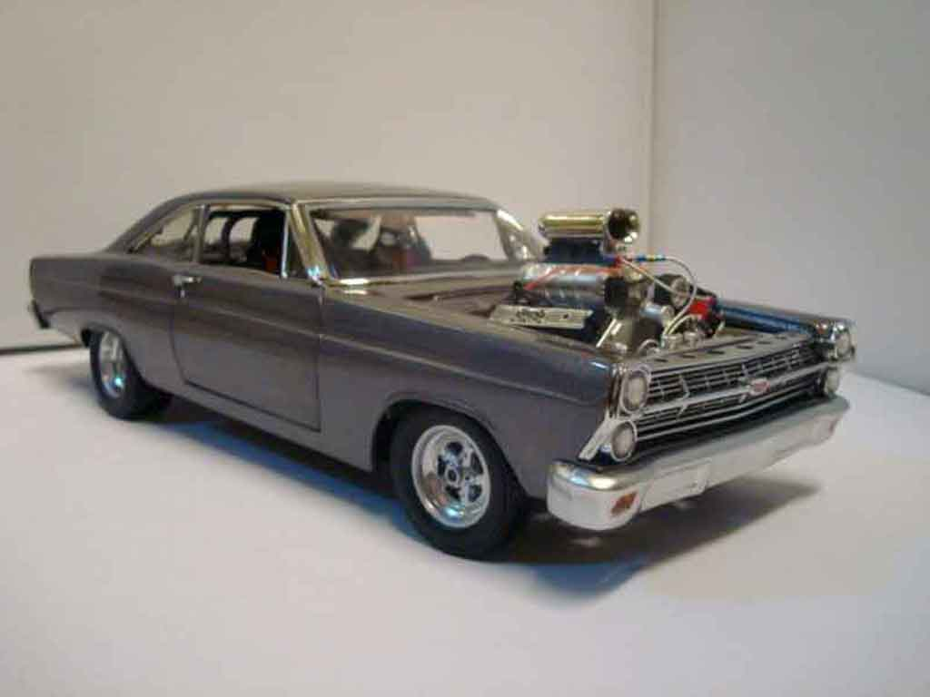 Ford Fairlane 1966 1/18 GMP 427 street machine limited edition nr 817 von 1250 miniature