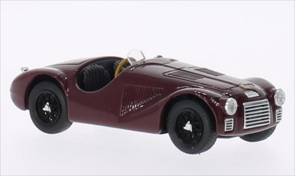 Ferrari 125 1/43 Brumm rouge RHD 1947 miniature