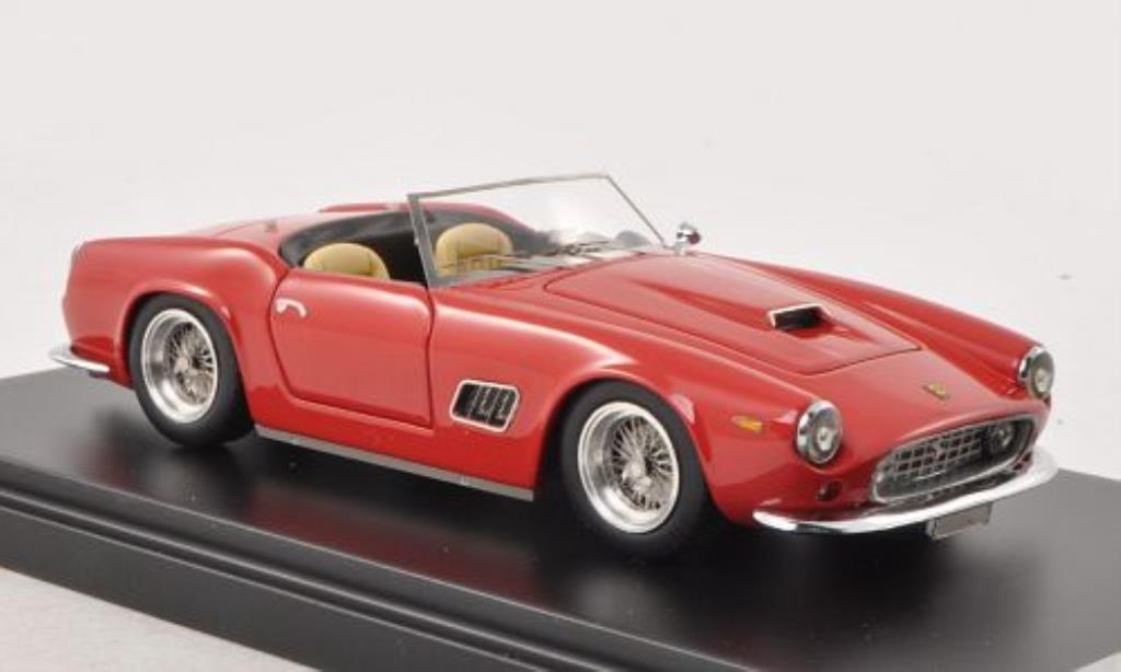 Ferrari 250 GT 1/43 IILario SWB California Spyder rojo 1962 coche miniatura