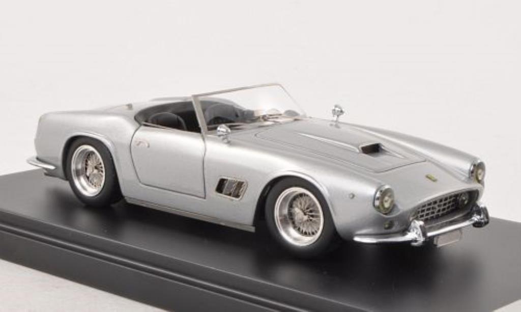 Ferrari 250 GT 1/43 IILario SWB California Spyder gris 1962 coche miniatura