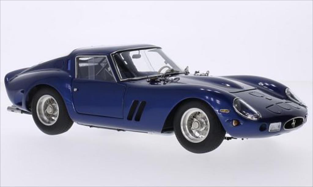 Ferrari 250 GTO 1/18 CMC GTO metallise bleu 1962 diecast model cars