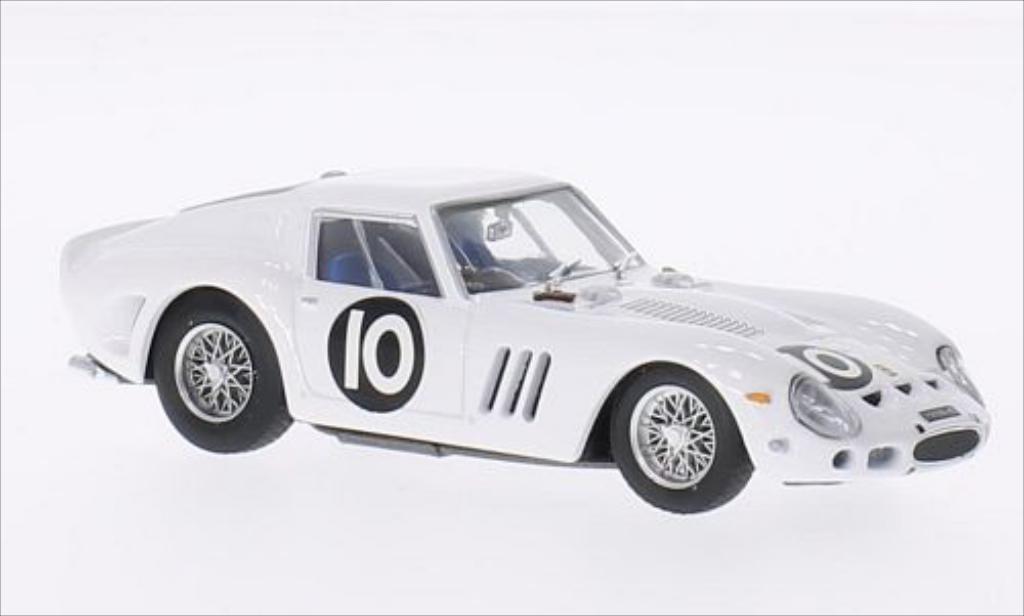 Ferrari 250 GTO 1/43 Brumm GTO No.10 Tourist Trophy 1962 diecast model cars
