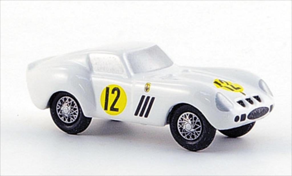 Ferrari 250 GTO 1/90 Schuco GTO No.12 Tourist Trophy 1963 modellautos