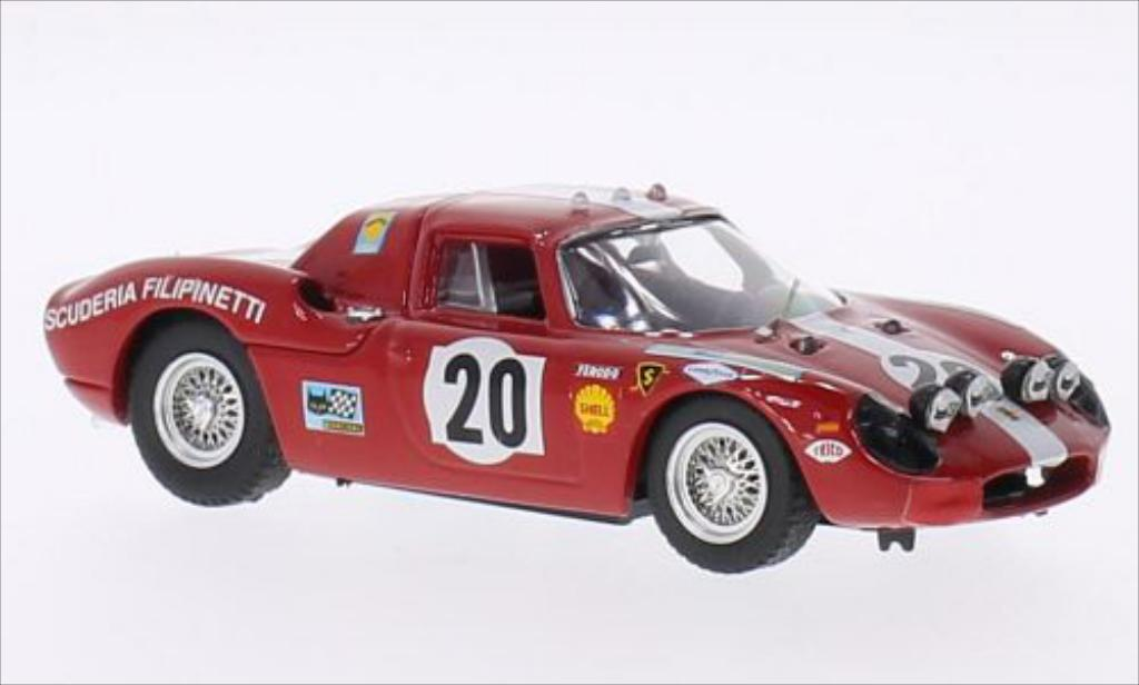 Ferrari 250 LM 1/43 Best No.20 24h Le Mans 1968 /B.Williams miniature