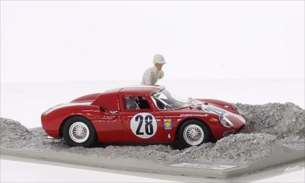 Ferrari 250 LM 1/43 Best RHD No.28 Scuderia Filipinetti 24h Le Mans 1965 miniature