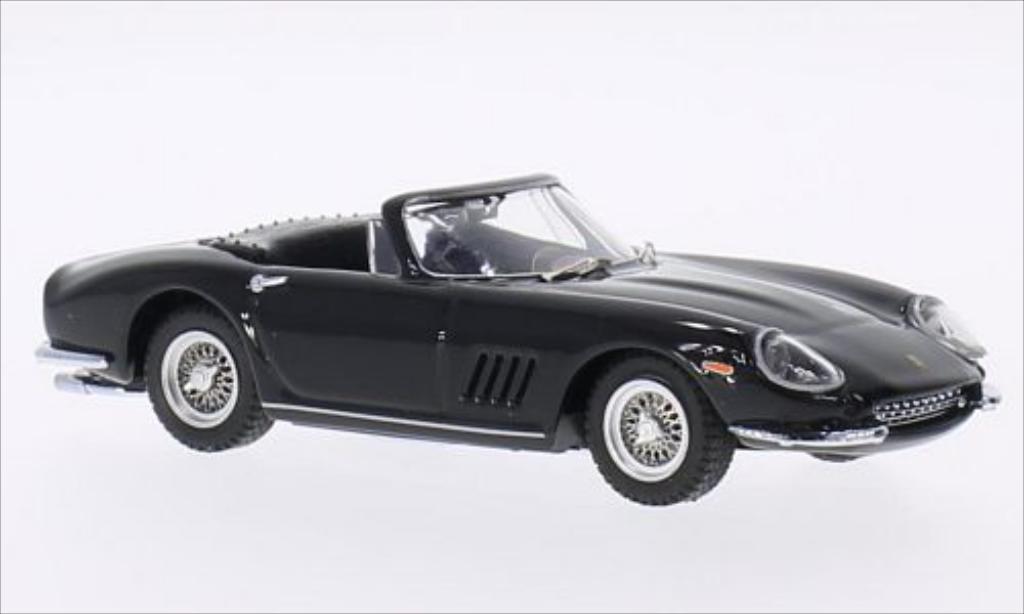 Ferrari 275 1/43 Best GTB/4 Spyder schwarz modellautos