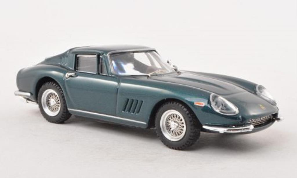 Ferrari 275 1/43 Best GTB bleu-grun Clint Eastwood diecast model cars