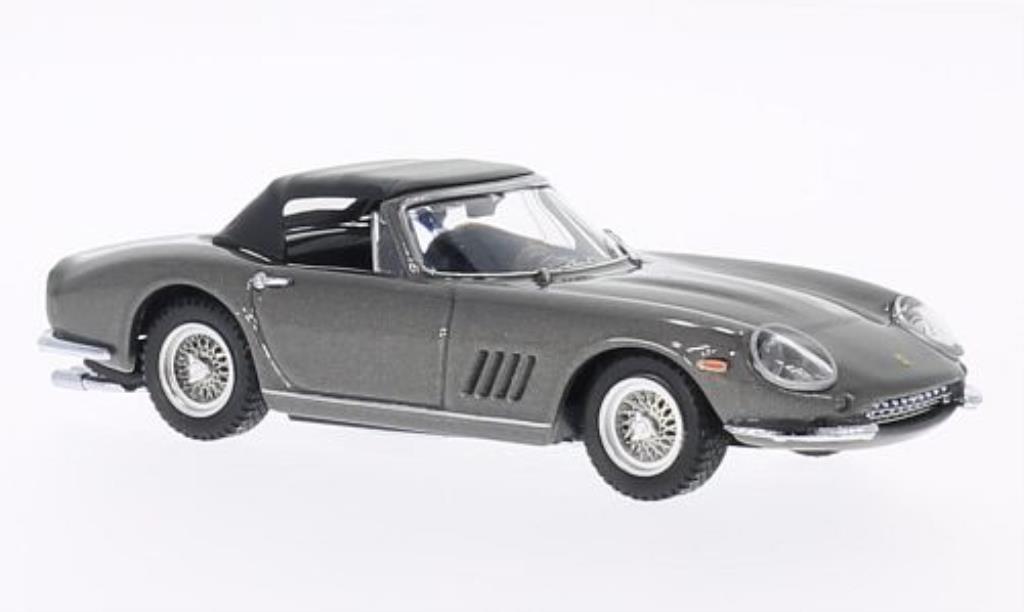 Ferrari 275 1/43 Best GTB SP geschlossen grigio 1967 modellino in miniatura