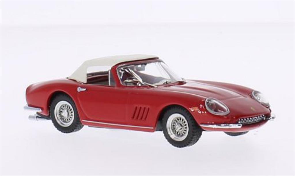 Ferrari 275 1/43 Best GTB Spyder N.A.R.T. rouge/beige 1967 miniature