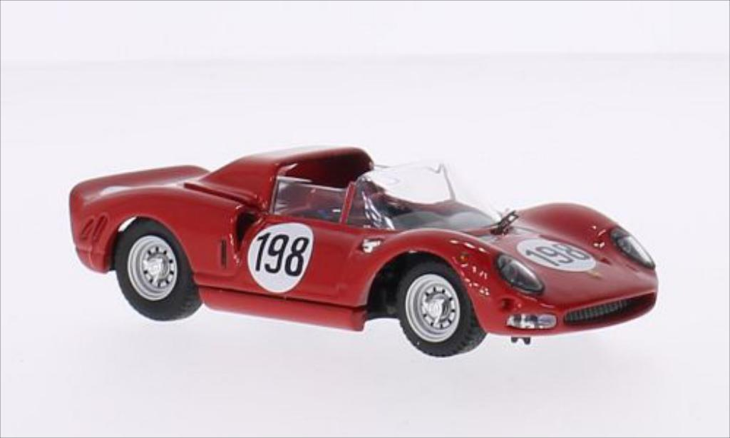Ferrari 275 1/43 Best P2 RHD No.198 Targa Florio 1965 /L.Bandini miniature