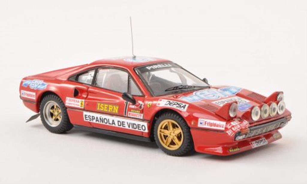 Ferrari 308 GTB 1/43 Best No.1 Rally di Spagna 1984 /Osona miniature