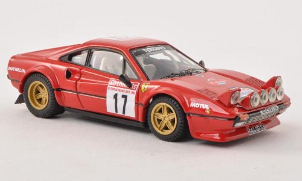 Ferrari 308 GTB 1/43 Best No.17 Tour de France 1983 /Panic modellautos