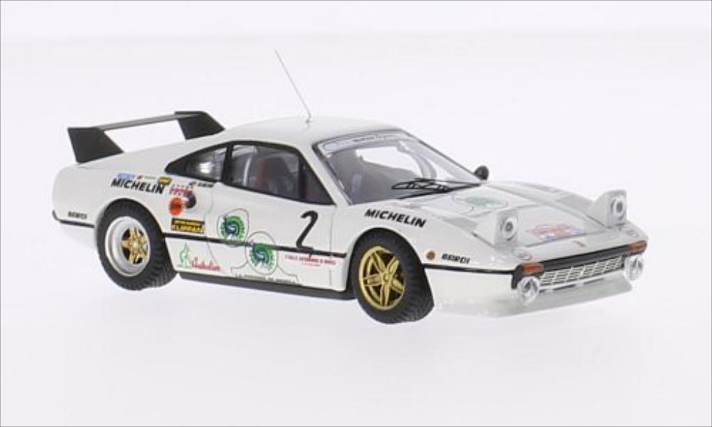 Ferrari 308 GTB 1/43 Best No.2 Team Michelotto Monza 1983 miniature