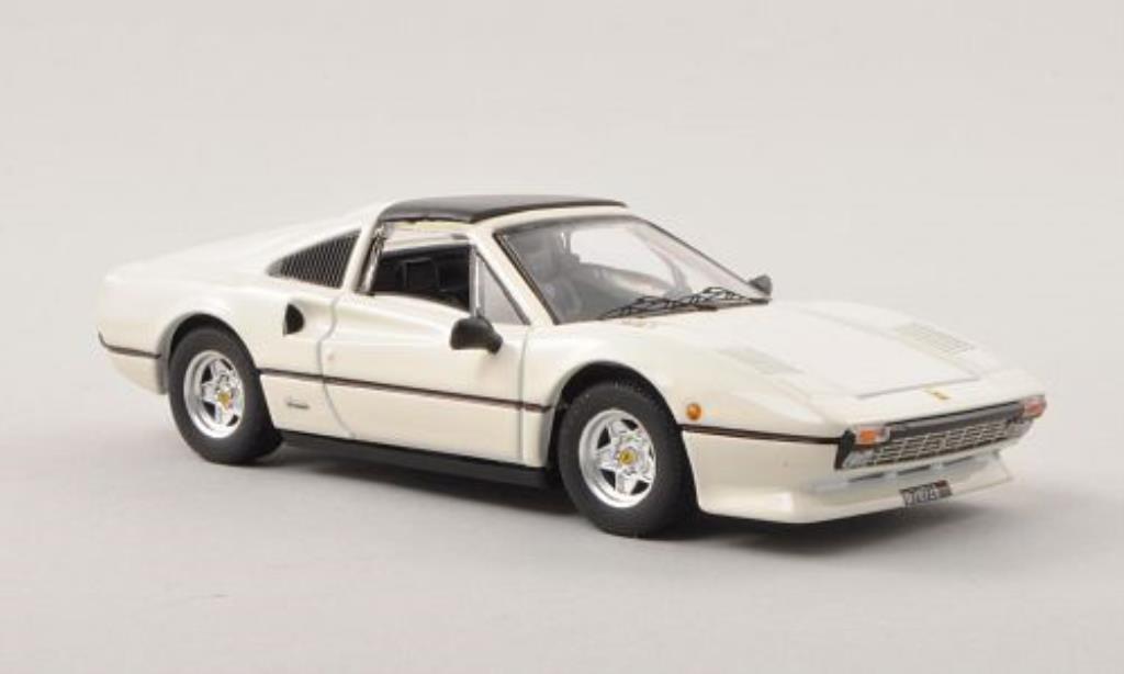 Ferrari 308 GTS 1/43 Best blanche 1978 miniature