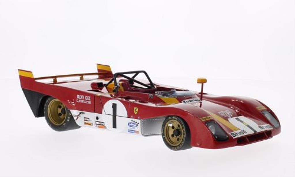 Ferrari 312 PB 1/18 GMP No.1 1000km Monza 1972 /C.Regazzoni modellino in miniatura