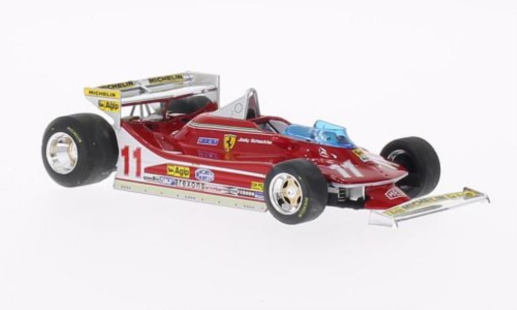 Ferrari 312 T4 1/43 Brumm No.11 GP Monaco 1979 modellino in miniatura
