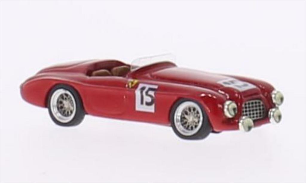 Ferrari 340 America Barchetta Touring Rhd No 15 Scuderia Ferrari 24h Le Mans 1951 Mcw Modellini
