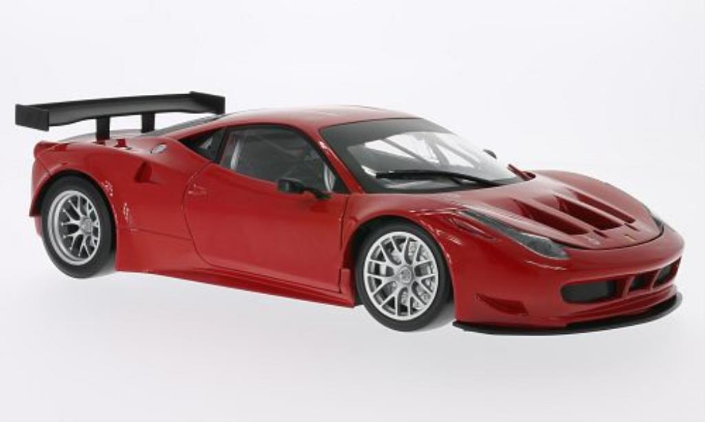 Ferrari 458 Italia 1/18 Hot Wheels Italia GT2 rot