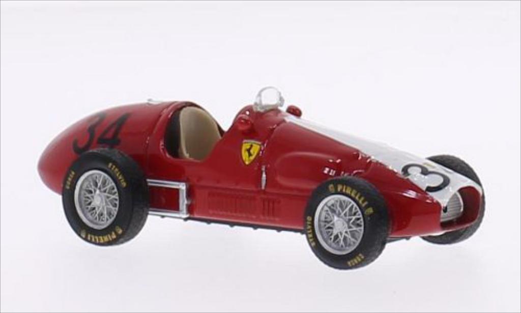 Ferrari 500 F2 1/43 Brumm No.34 Scuderia Svizzera Espadon GP Deutschland 1953 diecast model cars