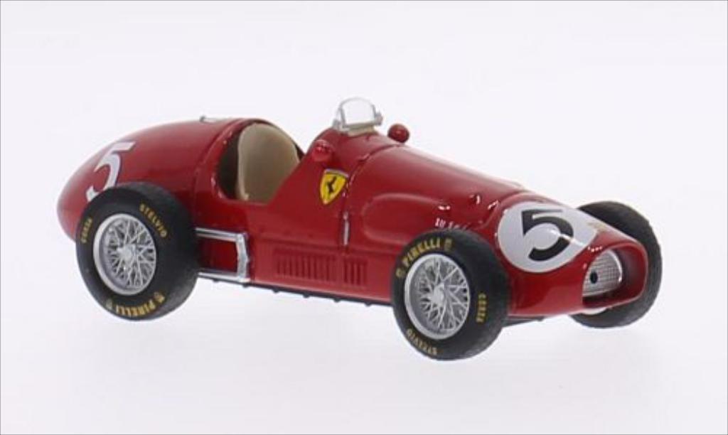 Ferrari 500 F2 1/43 Brumm No.5 Scuderia GP Grossbritannien 1953 diecast model cars