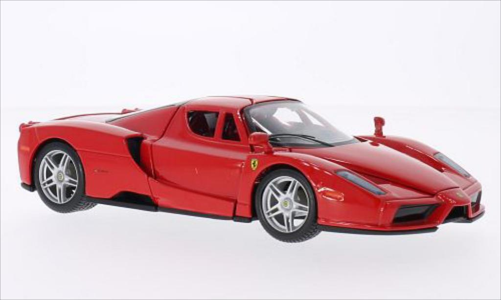 ferrari enzo miniature rouge burago 1 24 voiture. Black Bedroom Furniture Sets. Home Design Ideas