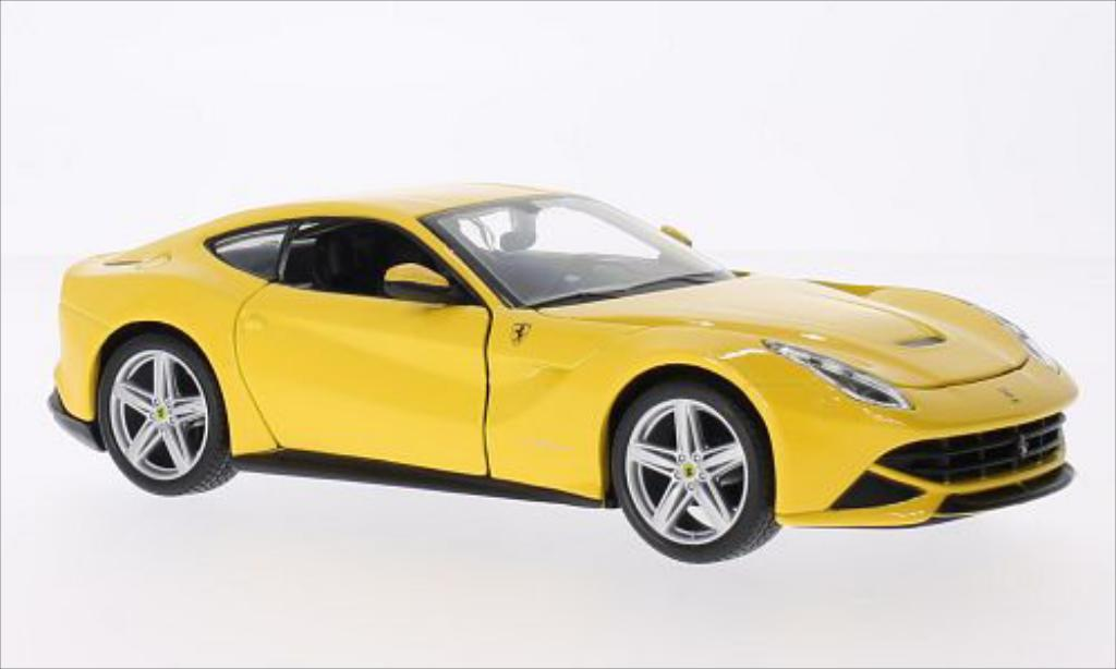 Ferrari F1 1/24 Burago 2 Berlinetta yellow diecast model cars