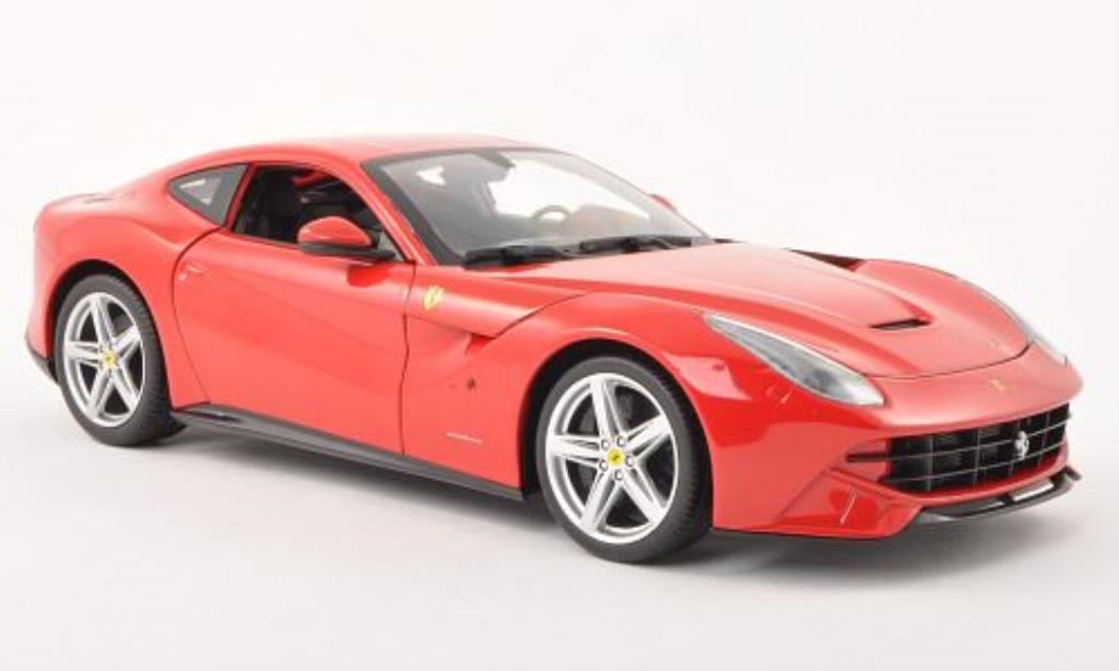 Ferrari F1 1/18 Hot Wheels 2 Berlinetta rot 2012 modellautos