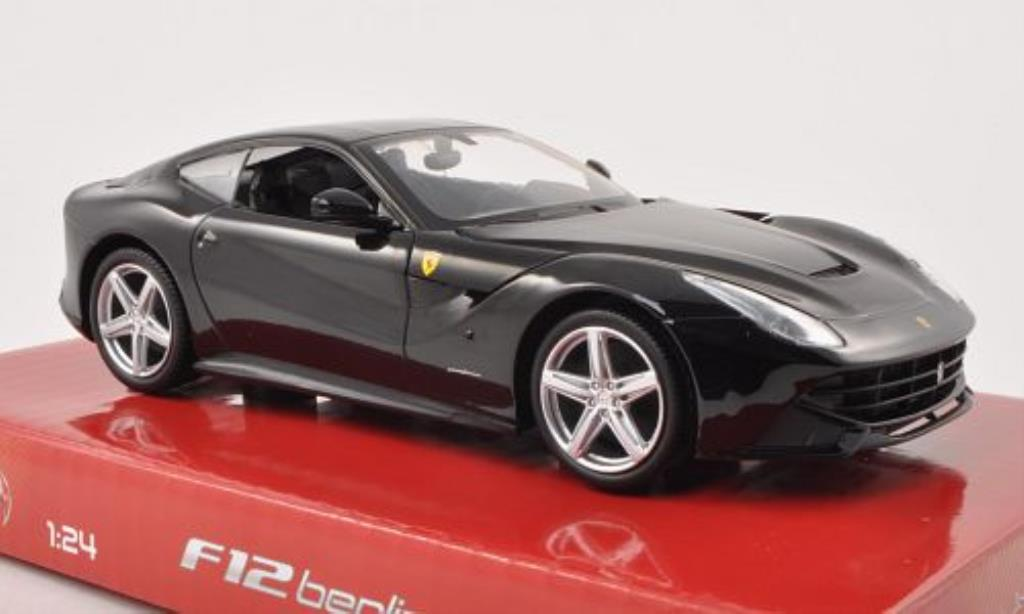 Ferrari F12 1/24 Hot Wheels Berlinetta black