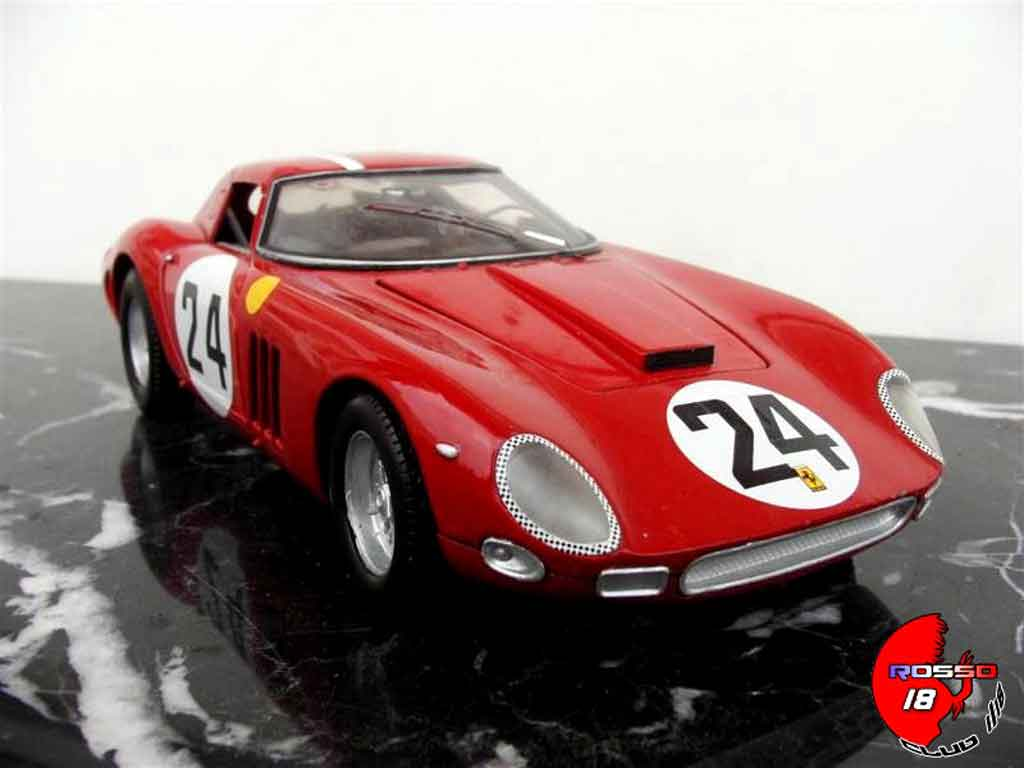 Ferrari 250 GTO 1964 1/18 Jouef s/n 5575gt #24 tuning diecast model cars