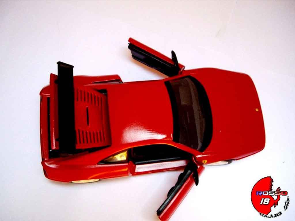 Auto miniature Ferrari F355 Berlinetta challenge rouge tuning Hot Wheels. Ferrari F355 Berlinetta challenge rouge miniature 1/18