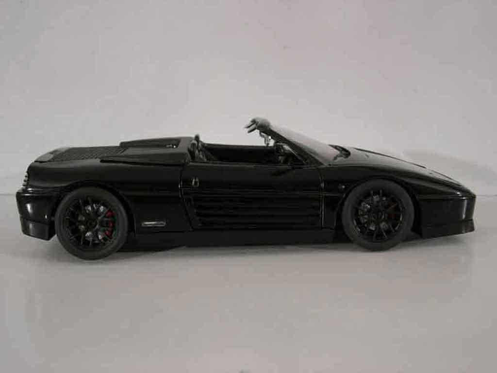 ferrari 348 spider tuning schwarz mira modellauto 1 18 kaufen verkauf modellauto online. Black Bedroom Furniture Sets. Home Design Ideas