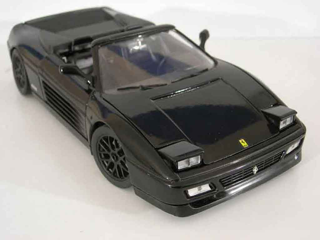 Ferrari 348 Spider 1/18 Mira tuning noir tuning diecast model cars