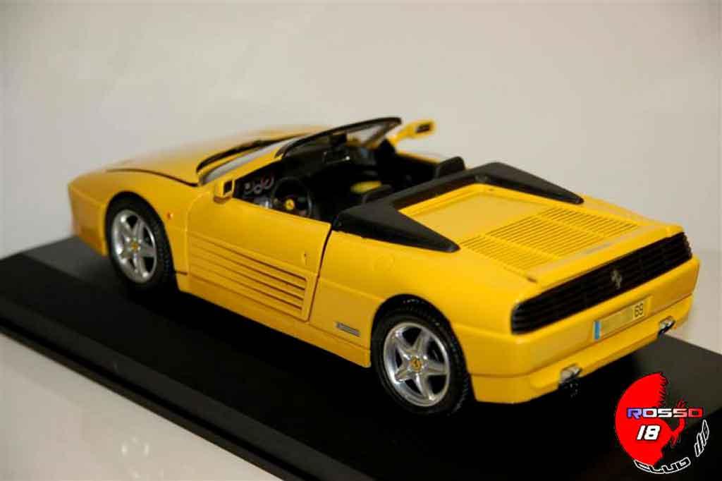 ferrari 348 spider jaune mira modellauto 1 18 kaufen verkauf modellauto online. Black Bedroom Furniture Sets. Home Design Ideas