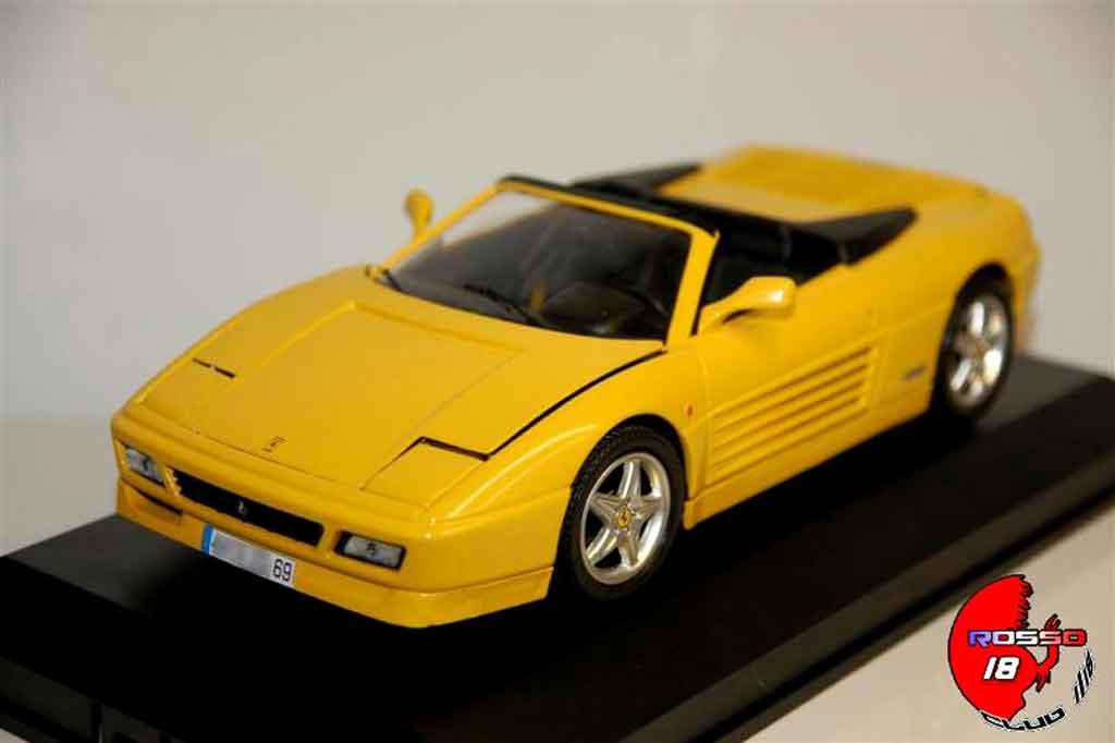Ferrari 348 Spider 1/18 Mira giallo