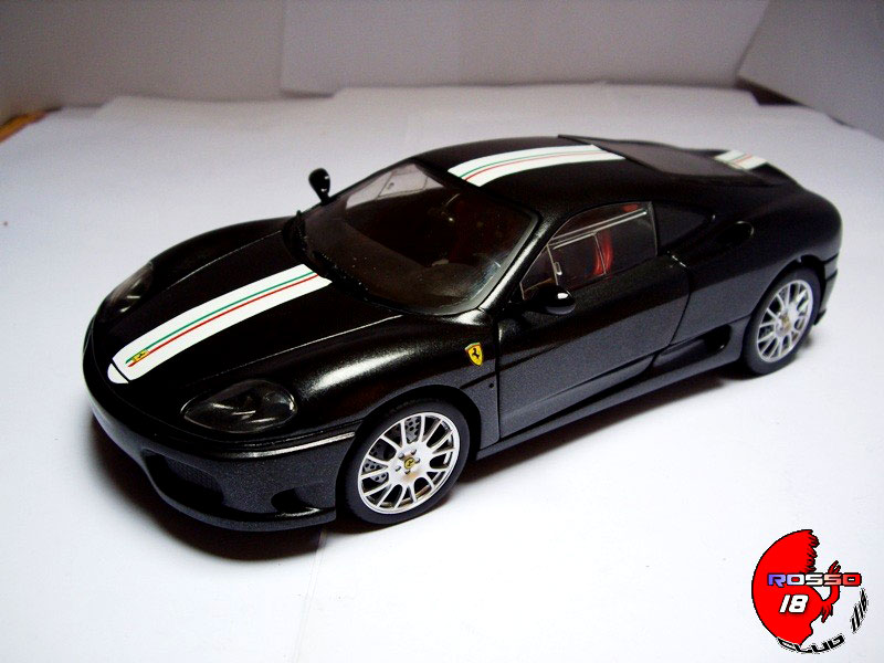 ferrari 360 modena coupe cs schwarz hot wheels modellauto. Black Bedroom Furniture Sets. Home Design Ideas