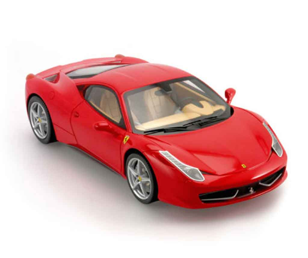 ferrari 458 italia miniature resine bbr 1 18 voiture. Black Bedroom Furniture Sets. Home Design Ideas