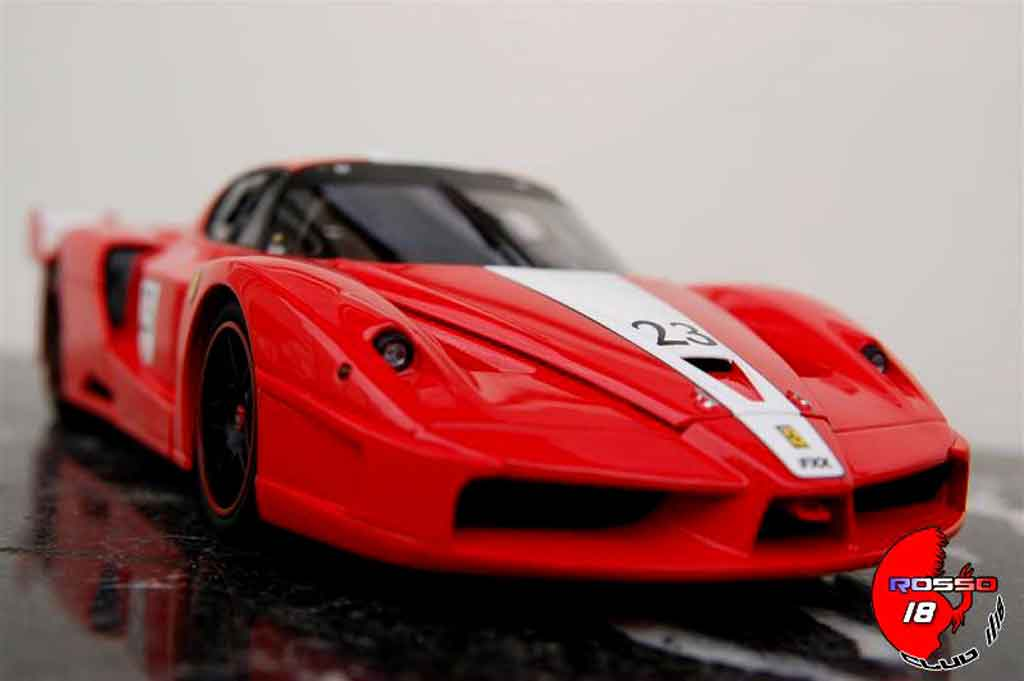 Miniature Ferrari Enzo FXX #23 angebarde.com tuning Hot Wheels Elite. Ferrari Enzo FXX #23 angebarde.com miniature 1/18