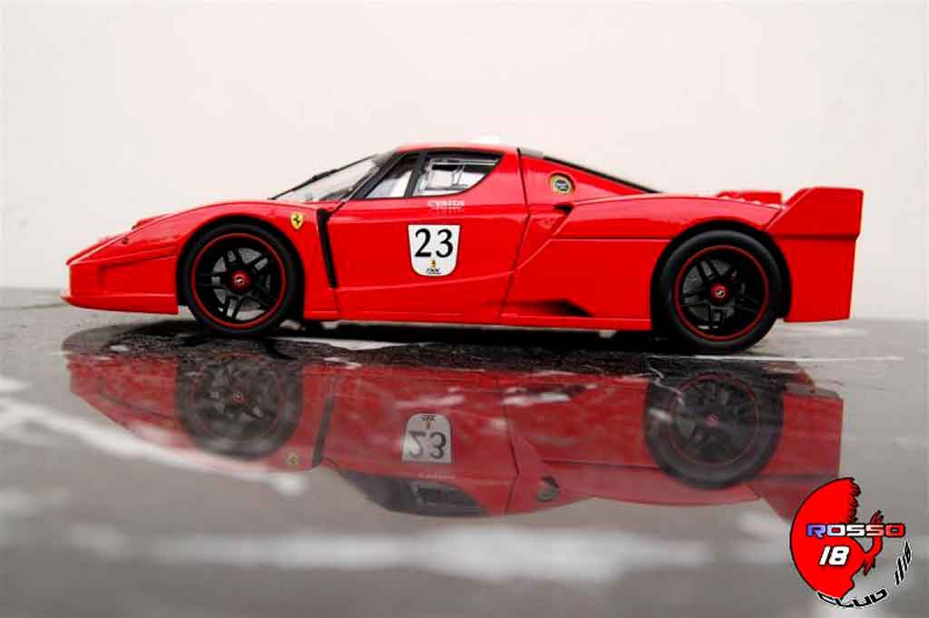 Voiture de collection Ferrari Enzo FXX #23 angebarde.com tuning Hot Wheels Elite. Ferrari Enzo FXX #23 angebarde.com miniature 1/18