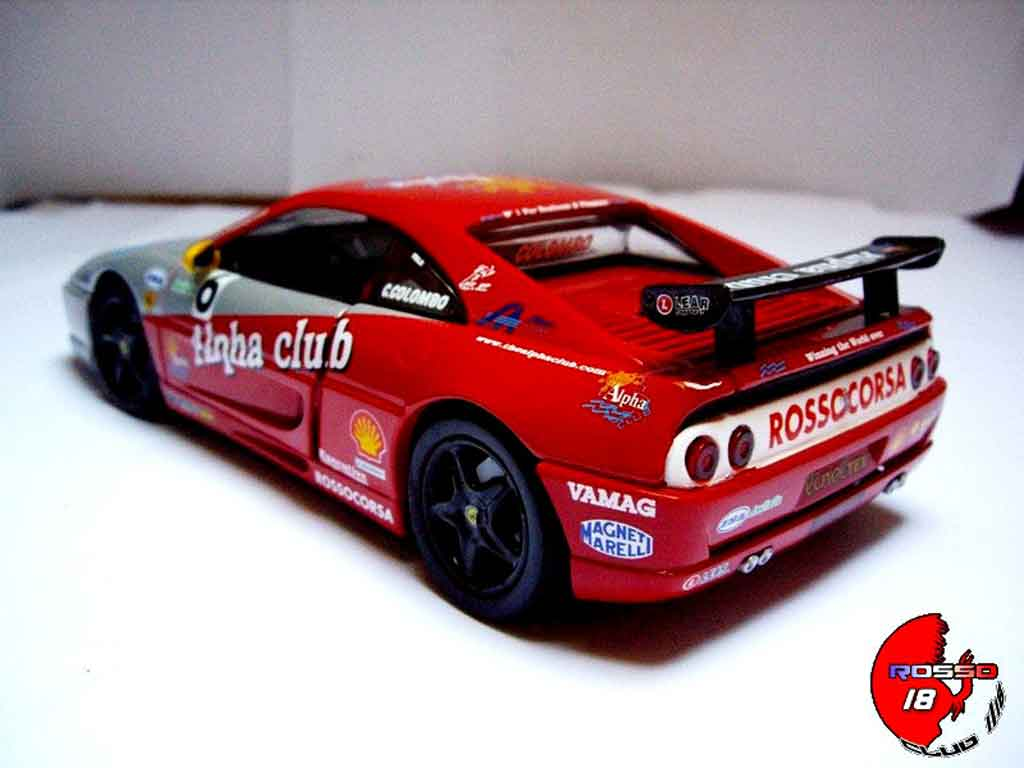 Ferrari F355 Berlinetta 1/18 Hot Wheels challenge #6 c.colombo