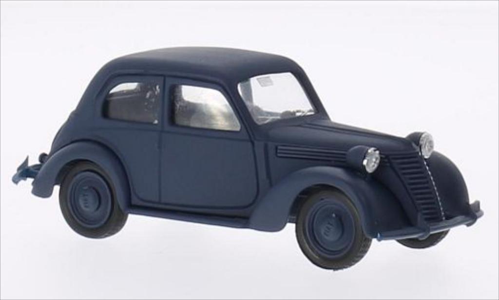 Fiat 1100 1/43 Brumm B matt-bleu 1943 diecast model cars