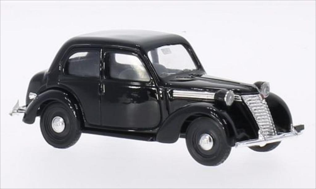 Fiat 1100 1/43 Brumm E black 1949 diecast model cars