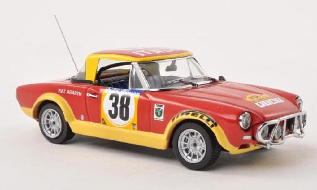 Fiat 124 Abarth 1/43 Vitesse No.38 Safari Rally 1974 /I.Smith diecast model cars