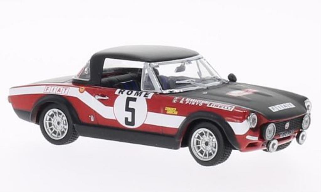 Fiat 124 Abarth 1/43 Vitesse No.5 Rally Monte-Carlo 1973 /A.Bernacchini