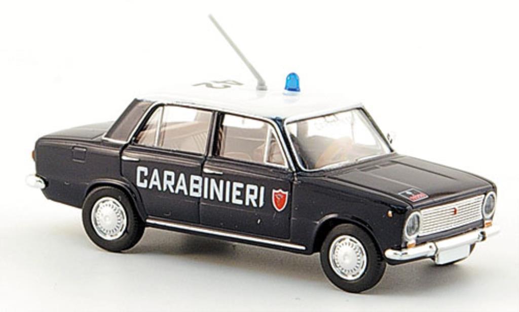 Fiat 124 1/87 Brekina Limousine Carabinieri Polizei miniature