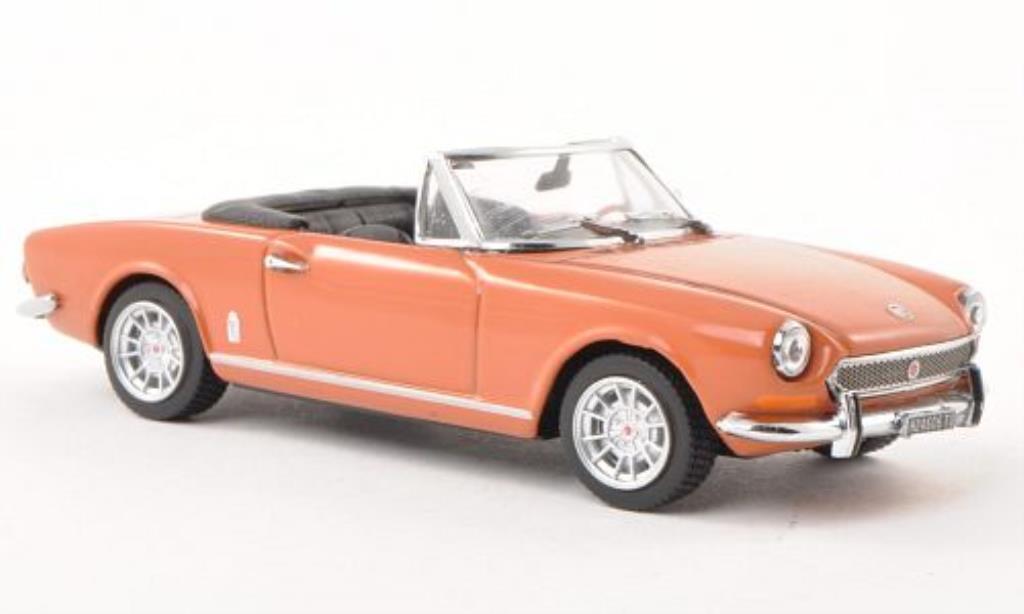 Fiat 124 Spider 1/43 Vitesse BS marron 1970 miniature