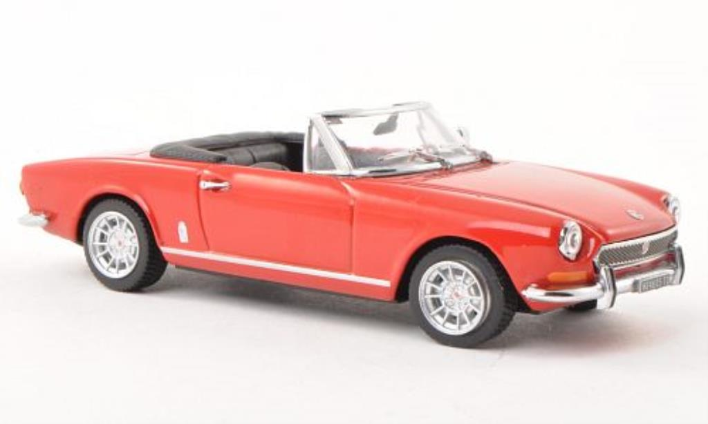 Fiat 124 Spider 1/43 Vitesse BS rouge 1970 miniature