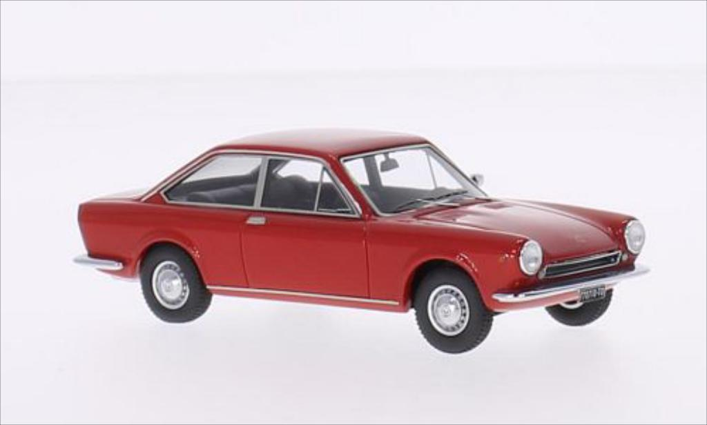 fiat 124 sport coupe 1s rot 1967 kess modellauto 1 43. Black Bedroom Furniture Sets. Home Design Ideas