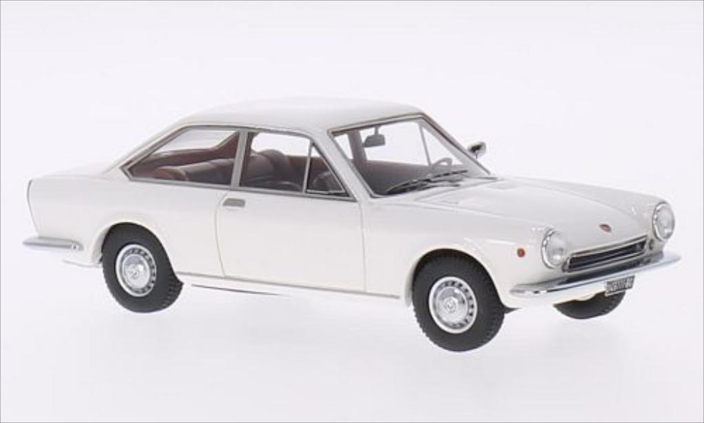 Fiat 124 1/43 Kess Sport Coupe 1S blanche 1967 miniature