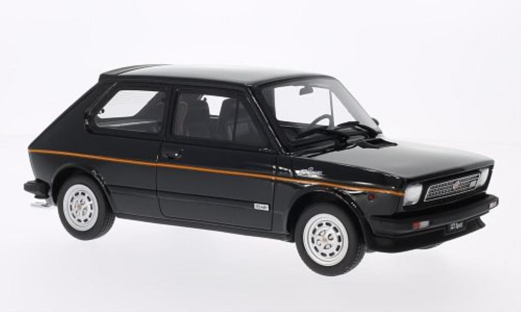 fiat 127 sport black mcw diecast model car 1 18 buy sell diecast car on. Black Bedroom Furniture Sets. Home Design Ideas