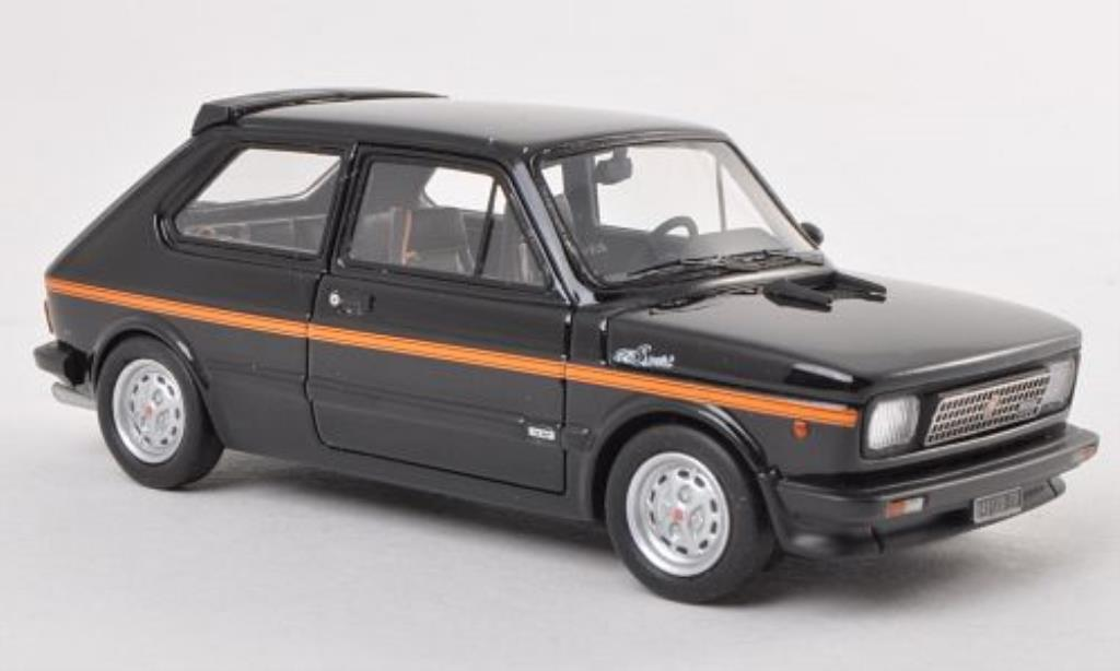 Fiat 127 Sport 1/43 Neo noire/orange 1979 miniature